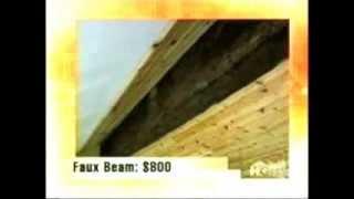 Beam Ceiling Created With False Wood | Hgtv's My Big Amazing Renovation