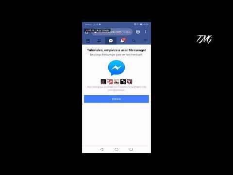 Como INICIAR SESIÓN en FACEBOOK y MESSENGER sin tenerlos instalados en el celular móvil | Fácil 2019