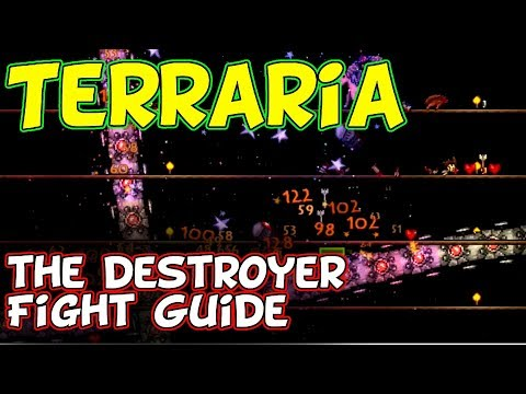 Terraria — The Destroyer Easy Fight Guide [Switch, IOS, Android, PS4, XBox, PC]