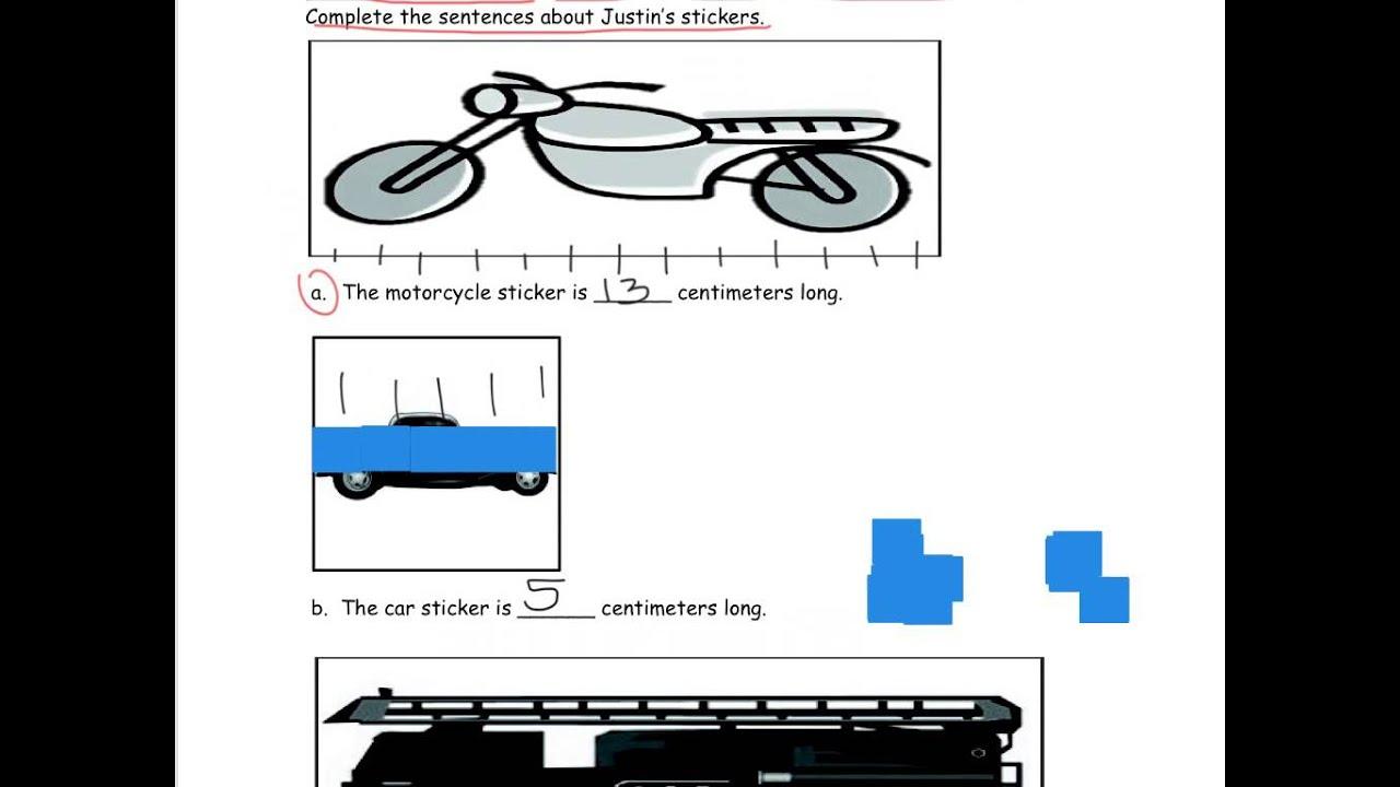 Grade 1 Module 3 Lesson 5 Homework - YouTube