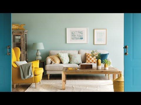 """Color en el salón """"Contraste"""""""