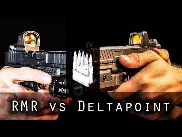 Trijicon RMR vs Leupold DeltaPoint Pro for Pistols