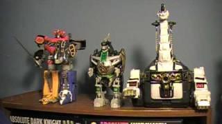 Power Rangers Season 1 Zords Toy Reviews ( Dino )