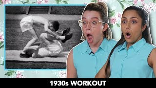 We Tried 1930s Workouts