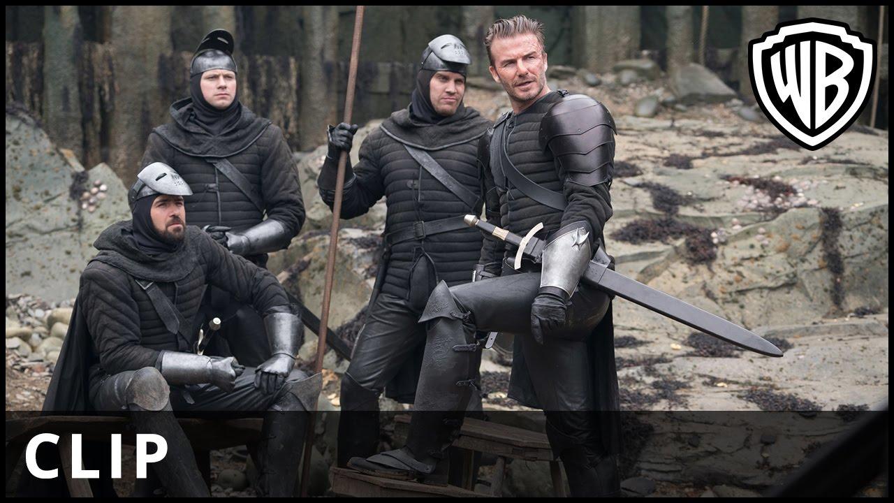 Excalibur Movie Sex Scene king arthur: legend of the sword: david beckham cameo mocked