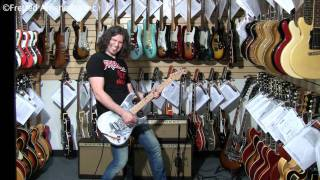 PHIL X Plays Drills talks Star Trek and rips Priest 1994 Aloha Strat Prototype