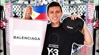 PHILIPPINES SHOPPING MALL VLOG! Hypebeast Streetwear + Designer Haul! (MANILA)