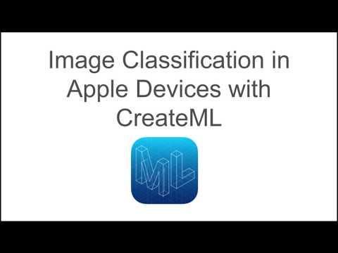 Train a Deep Learning Image Classifier using CreateML