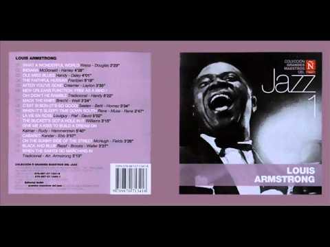 Louis Armstrong grandes maestros del Jazz 1