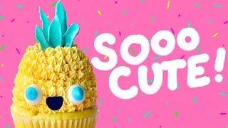 HAWAII KAWAII Pineapple Cupcakes - The Scran Line
