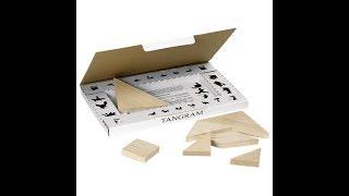 Spielanleitung Tangram von Goki aus Holz - Kreatives Legespiel für jung & alt -  BrabbelBabbel