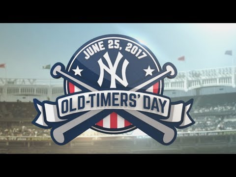 Yankees Old-Timers' Day 2017 - FULL CEREMONY