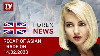 InstaForex tv news: 14.02.2020: USD closing week with prospects for further advance (USD/JPY, AUD/USD)