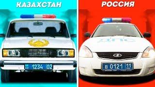 НА ЧЕМ ЕЗДЯТ МЕНТЫ В КАЗАХСТАНЕ...ДЕШАК!!