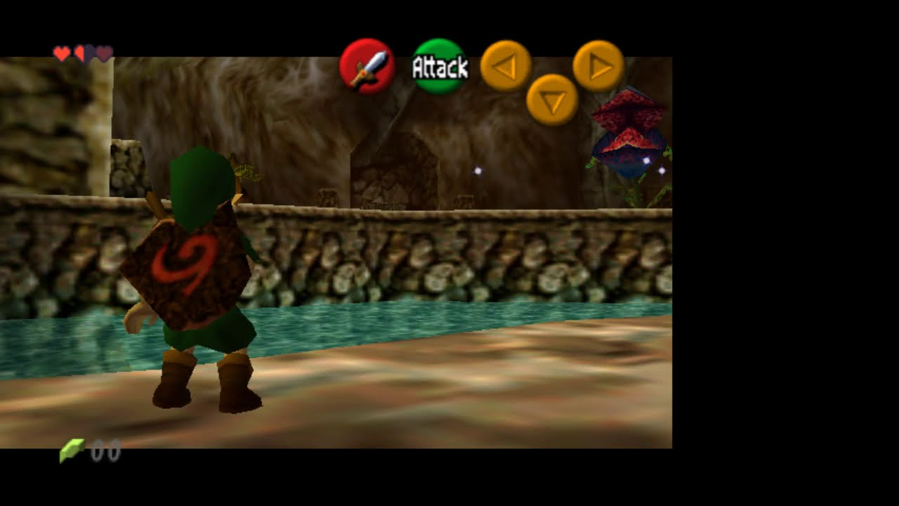 GIM with default Project 64 1 6 plugin vs Mudlord's Rice Video Build 6 1 4