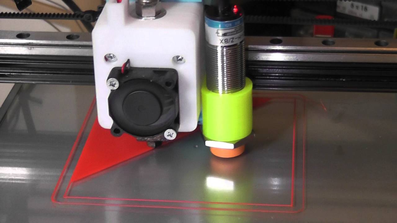 3D Printing With A Capacitive Sensor ABL