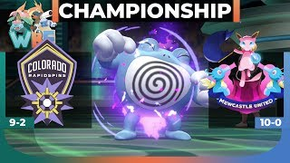 CHAMPIONSHIP! | WBE Draft League Wifi Battle Playoffs FINALS vs. Mewcastle United