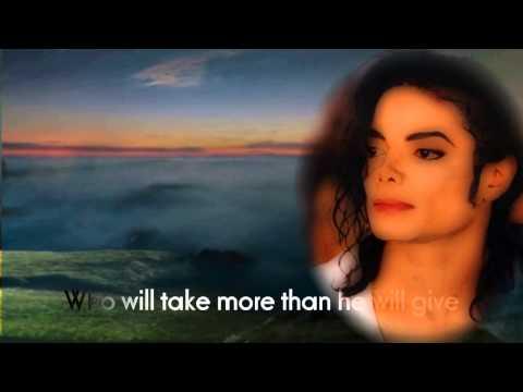 They Won't Go When I Go~❤~Michael Jackson(Stevie Wonder)