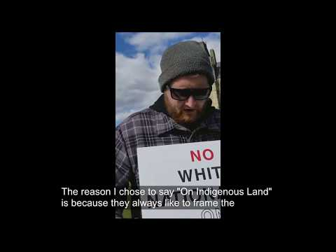 No White Nationalism On Indigenous Land