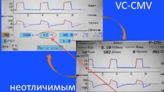 Як налаштувати апарат ШВЛ, щоб VCV не відрізнялося за своїми параметрами від PCV А. С. Горячев