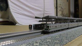 【鉄道模型】Nゲージ KATO製営団地下鉄千代田線6000系とTOMIX製常磐線E501系登場