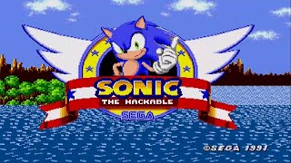 [TAS] [VERY FAST] Sonic The Hackable [First World] in 2:00.00 [CAMHACK]