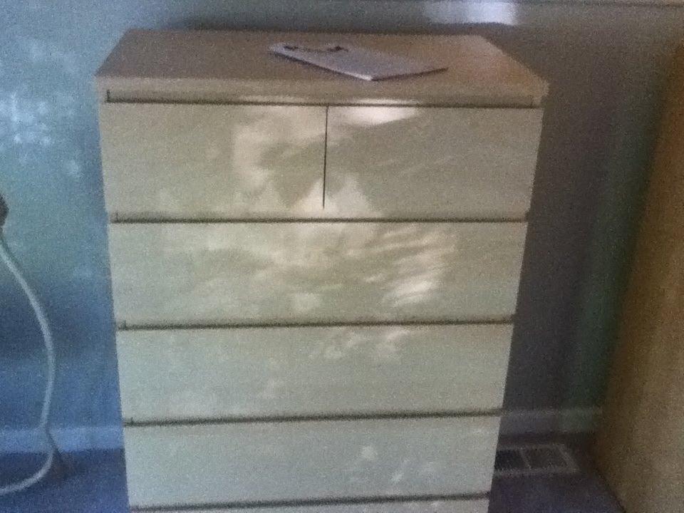 Ikea Malm 6 Drawer Dresser Assembly Youtube