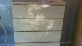 Ikea Malm 6 Drawer Dresser Assembly