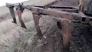 Рыхлитель якорь для трактора (лапа самодельная)