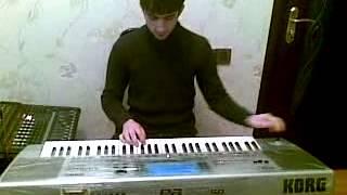 Ilham sintezator korg pa50sd azeri ritmler nagara