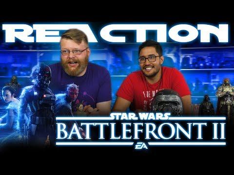 Star Wars Battlefront 2: Official Gameplay Trailer REACTION!!