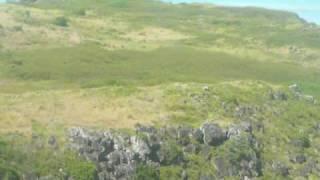 Mauritius Rodrigues Island landing