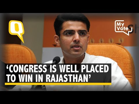 Cong Within Striking Distance Of Power In Rajasthan: Sachin Pilot    The Quint