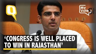 Cong Within Striking Distance Of Power In Rajasthan: Sachin Pilot  | The Quint