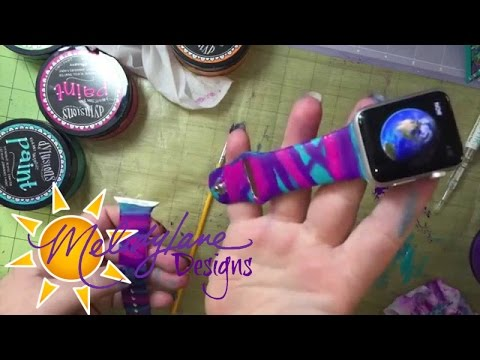 Painting Apple Watch Band