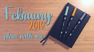 Plan With Me | February 2019