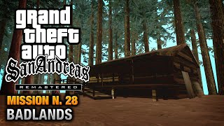 GTA San Andreas Remastered - Mission #28 - Badlands (Xbox 360 / PS3)