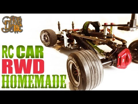 RC DRIFT CAR RWD HOMEMADE