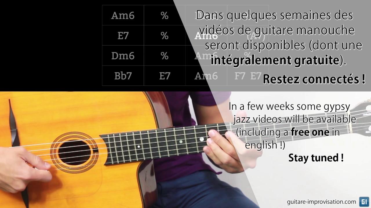guitare improvisation
