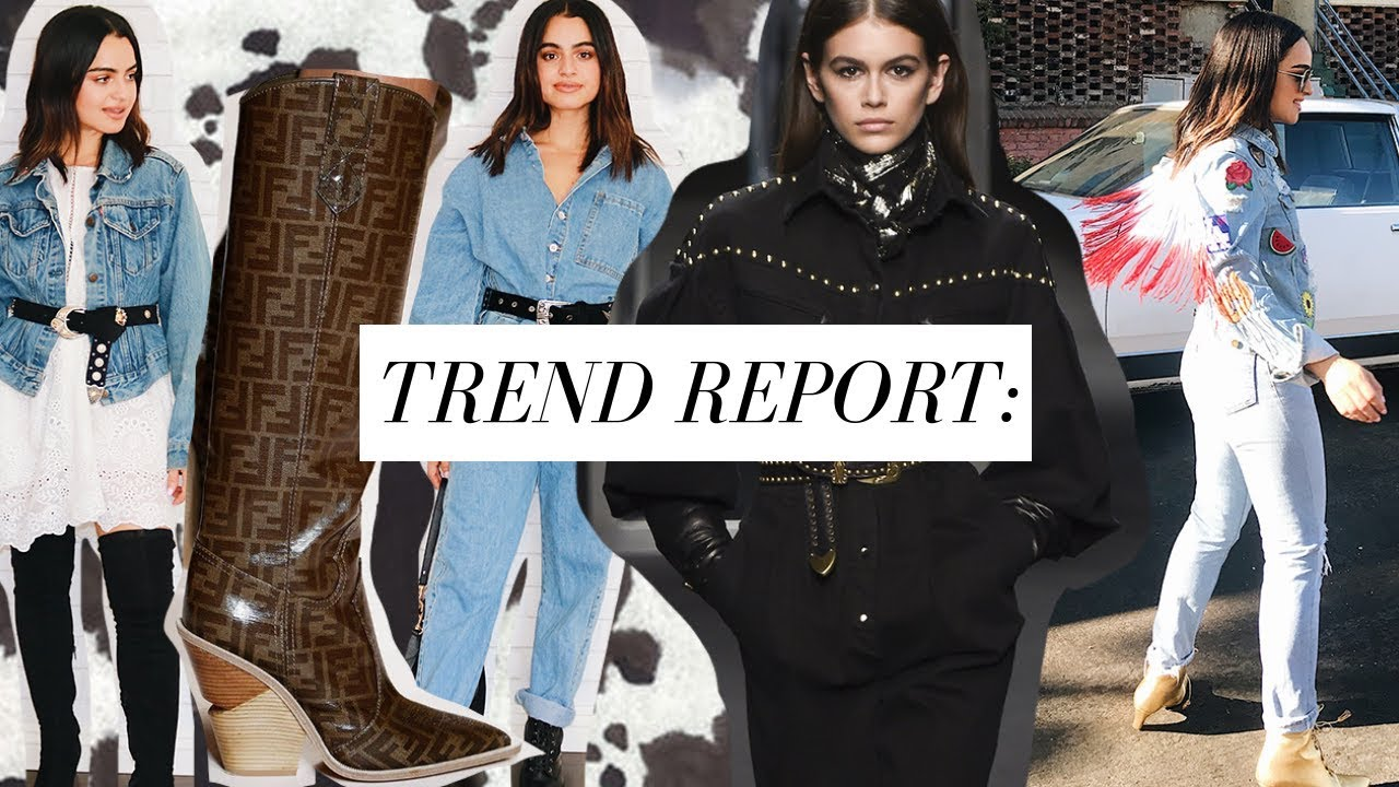 Best Trends: BEST OF FALL FASHION 2018-2019 PT. 5: WESTERN TREND