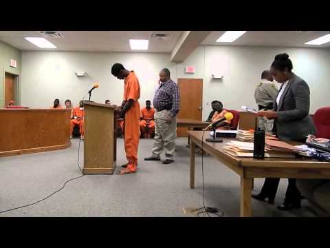 Percy Jackson court appearance on 2 murder charges, Pine Bluff