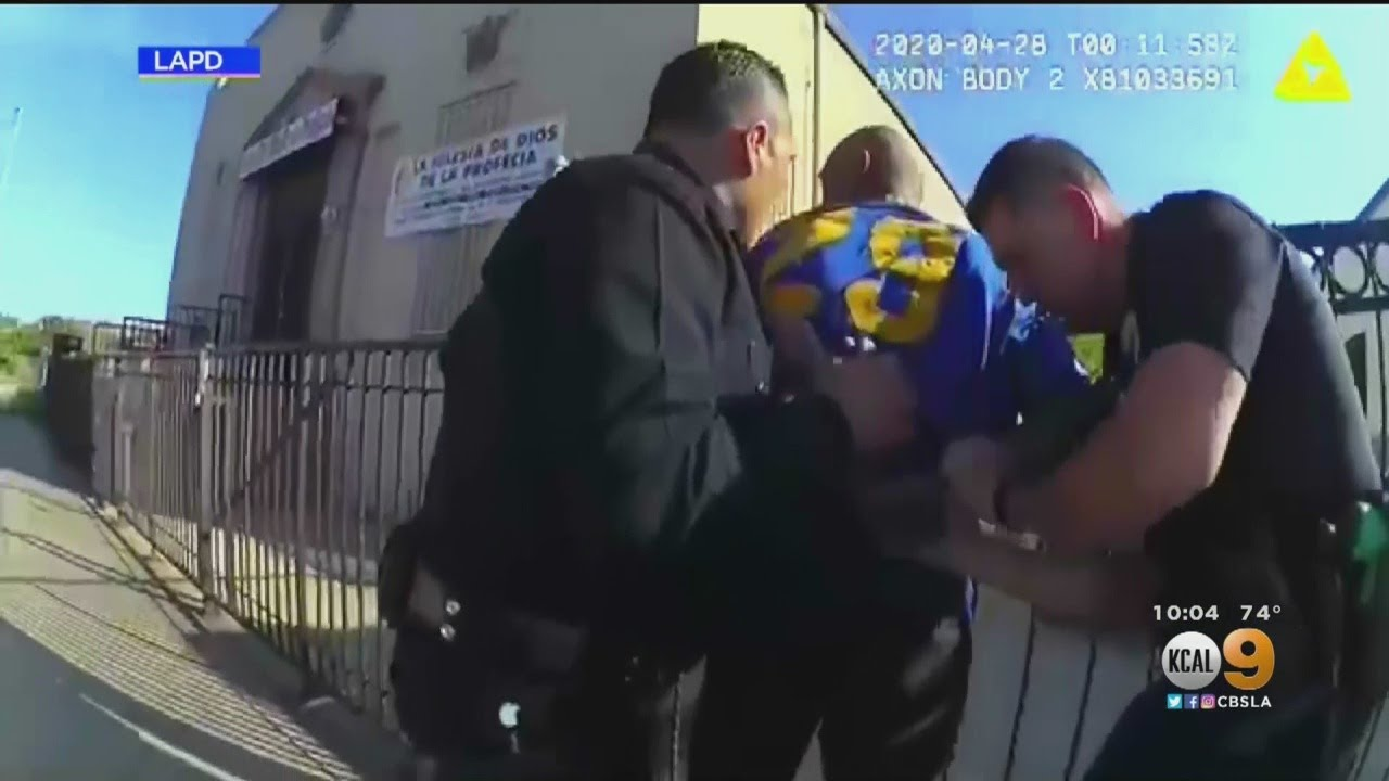 Charges Filed Against Officer Caught On Camera Striking Man Multiple Times In Boyle Heights