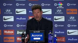 Rueda de prensa Atlético de Madrid RCD Mallorca