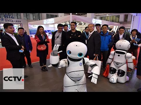 Various smart robots make debut at 2016 World Robot Conference
