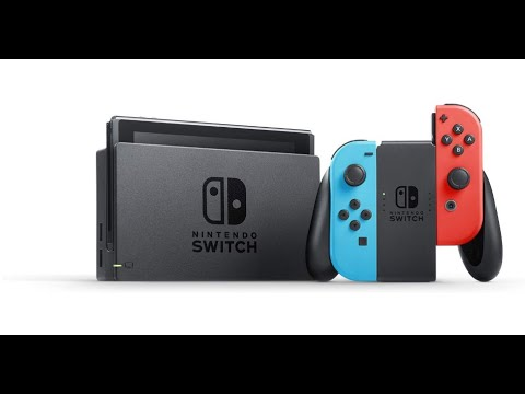 Review Nintendo Switch – Neon Red and Neon Blue Joy Con
