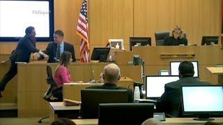 Prosecutor Juan Martinez Stabs Witness Dr. Horn to Simulate Jodi Arias Stabbing Travis Alexander