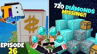 Truly Bedrock S2 Ep26! 720 DIAMONDS GONE Without A Trace! Bedrock Edition Survival Let's Play!