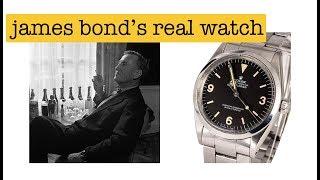 James Bond's Real Watch was an Explorer | LIQUOR RUN
