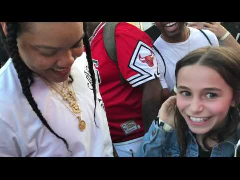 Sky Katz rapping for Young M.A. (Ooouuu)