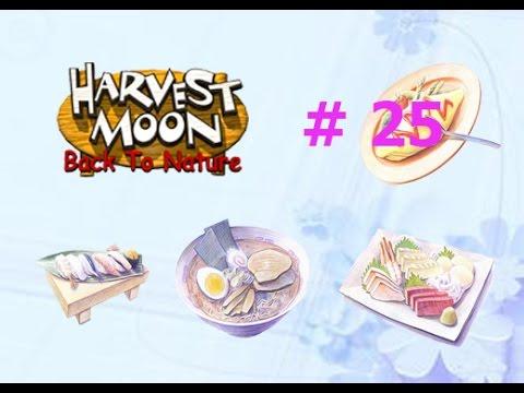 [Harvest Moon Back To Nature] ปี2 ฤดูใบไม้ผลิ [ตำราอาหาร 1] #25 | เนื้อหาทั้งหมดเกี่ยวกับสูตร อาหาร harvest moonที่สมบูรณ์ที่สุด